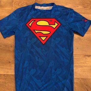 Under Armour Men's Compression Superman sz Large